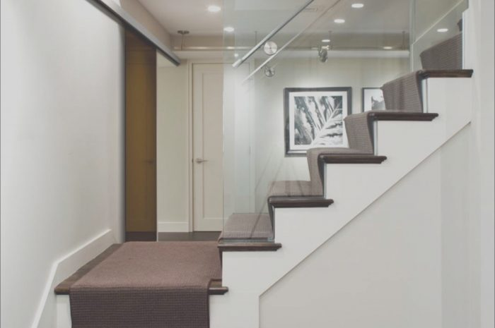 10 Fabulous Basement Stairs Decorating Ideas Collection