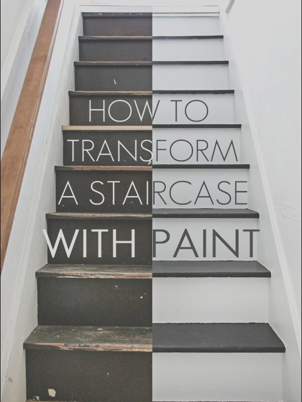 Best Paint for Interior Wood Stairs Fresh How to Paint Stairs the Easy Way Maison De Pax