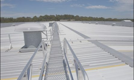 Bunnings Roof Stairs New Bunnings Warehouse Roof Access Retrofit Case Study
