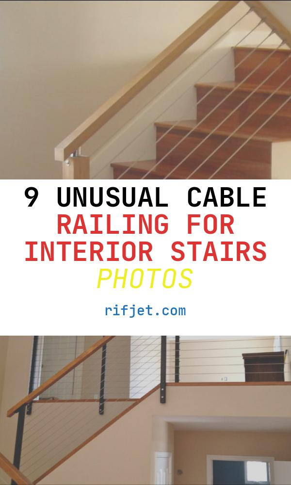 Cable Railing for Interior Stairs Best Of Stair Cable Railing Modern Staircase Other by