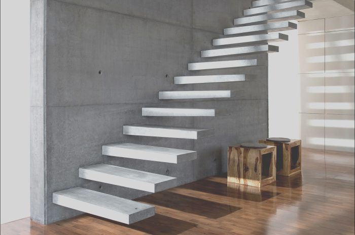 8 Petite Cantilever Stairs Design Photos