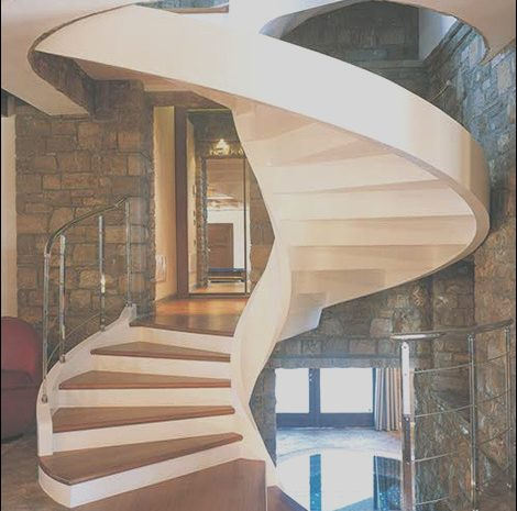 13 Likeable Circular Stairs Design Photography
