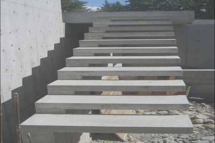 10 Stunning Concrete Stairs Design Outdoor Photography