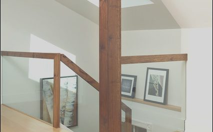 Contemporary attic Stairs Luxury attic Renovation Modern Staircase by Arnal