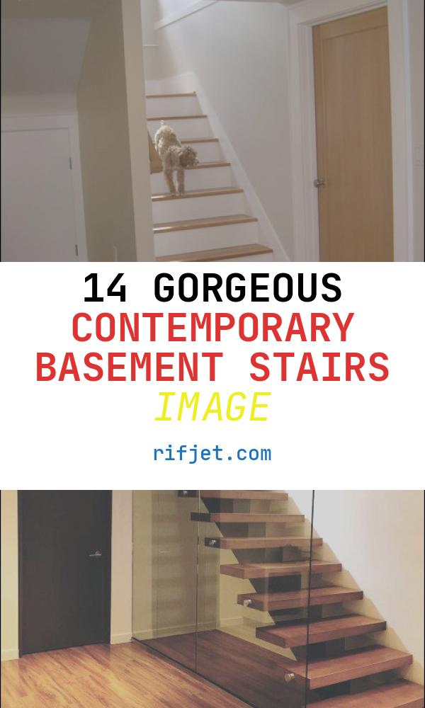 Contemporary Basement Stairs Awesome Contemporary Basement Traditional Staircase Portland
