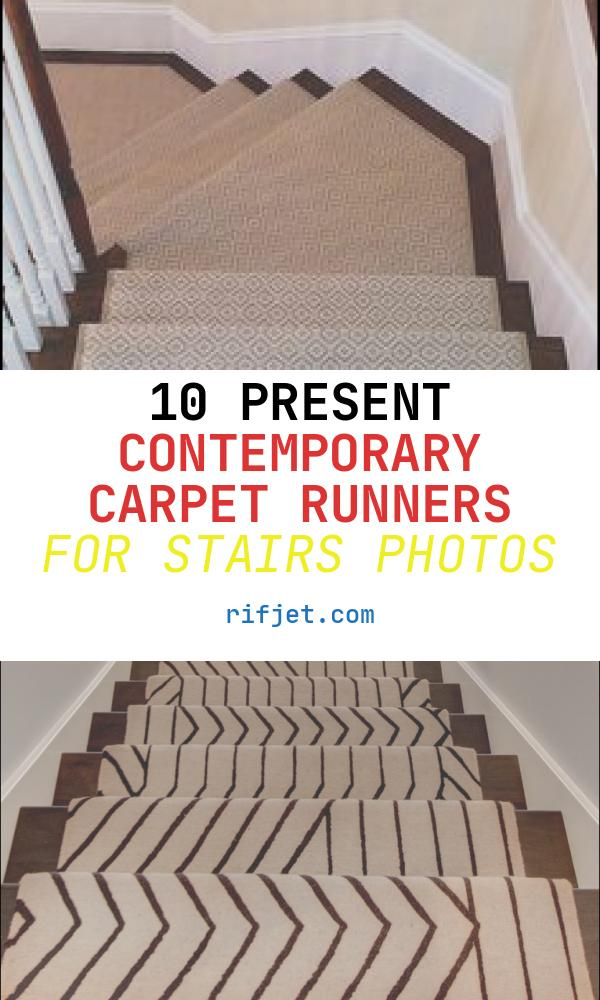 10 Present Contemporary Carpet Runners for Stairs Photos