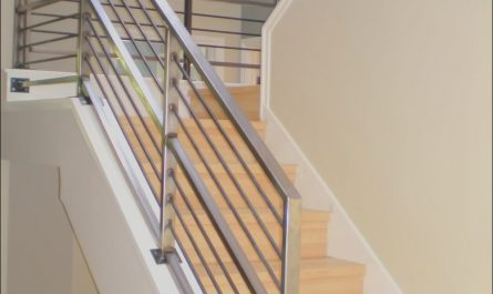Contemporary Stairs and Railings Elegant Decor Winsome Contemporary Stair Railing with Brilliant