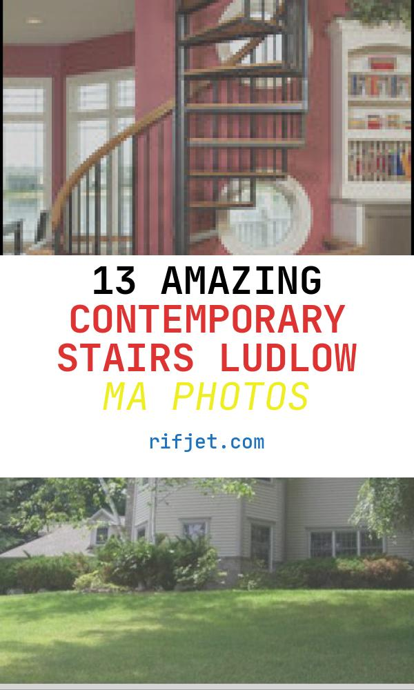 13 Amazing Contemporary Stairs Ludlow Ma Photos