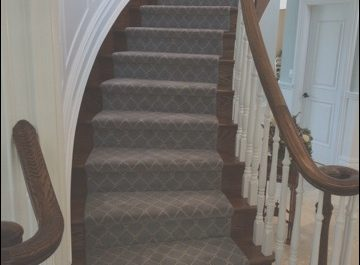 Contemporary Stairs with Carpet New Stairs Contemporary Staircase New York by Campbell