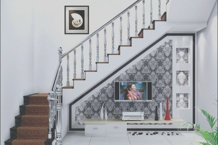 12 Glamorous Decor Space Near Stairs Photos