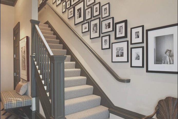 9 Modest Decorating Ideas for Wall Going Up Stairs Photos