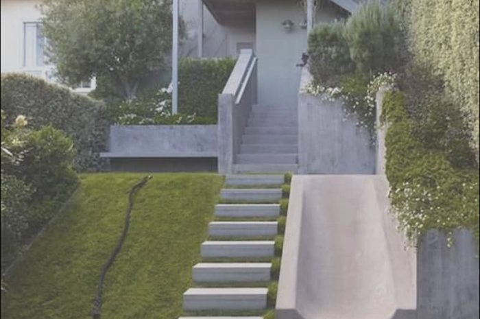 10 Unusual Decorating Outdoor Stairs Collection
