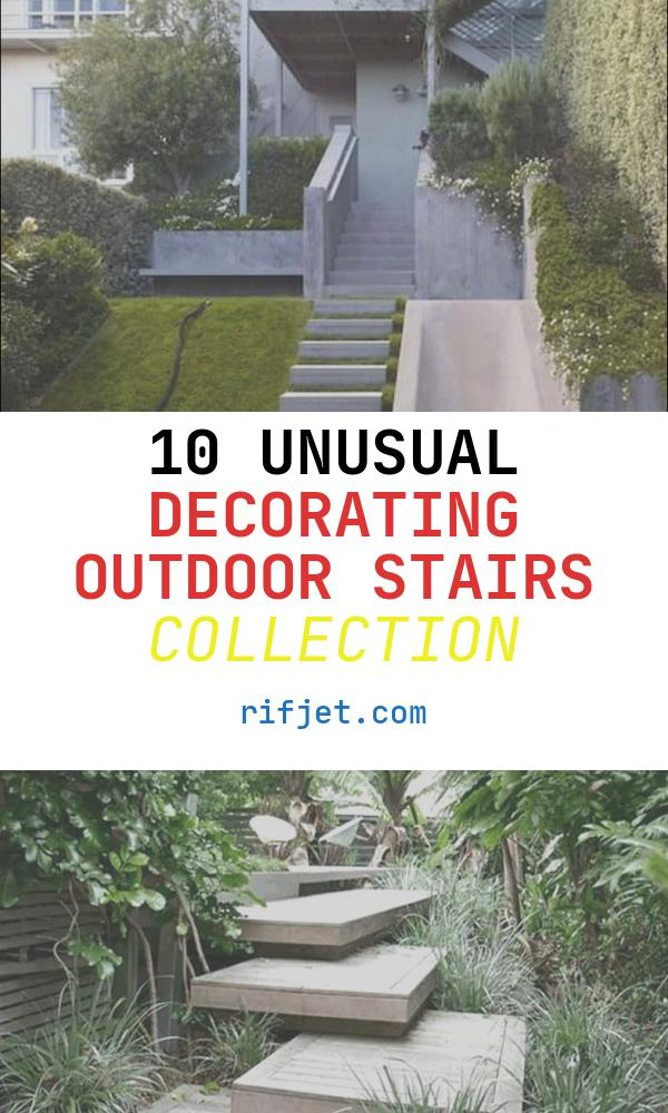 Decorating Outdoor Stairs Lovely 40 Ideas Of How to Design Exterior Stairways