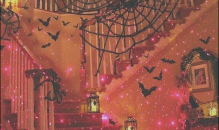 Decorating Stairs for Halloween Lovely Staircase Decorated for Halloween S and