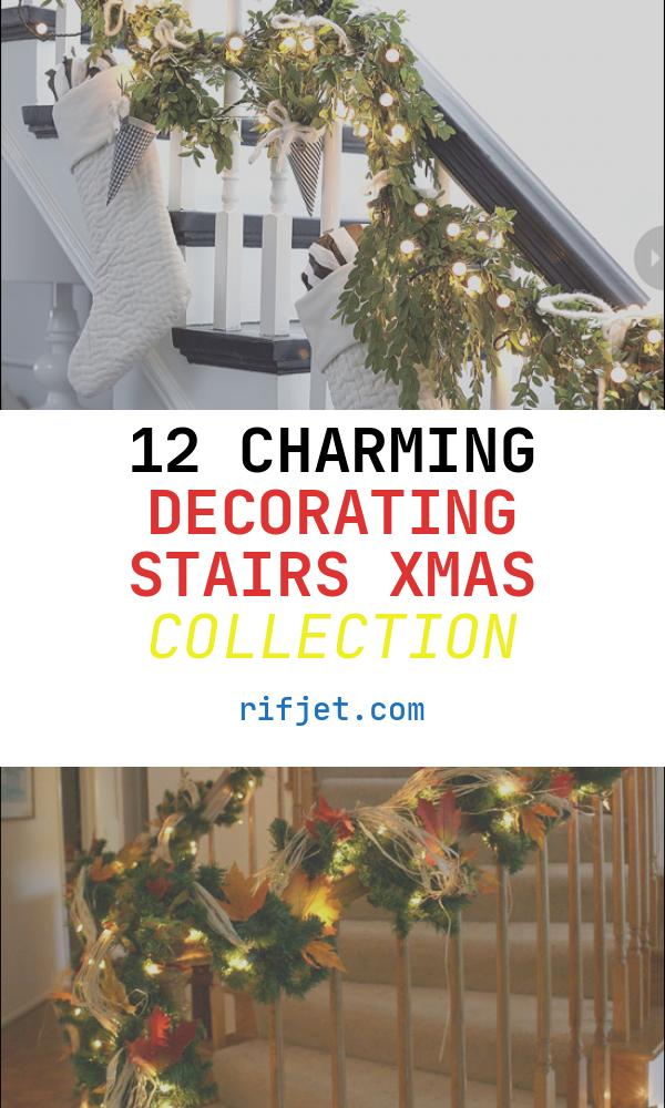 Decorating Stairs Xmas Awesome 100 Awesome Christmas Stairs Decoration Ideas Digsdigs