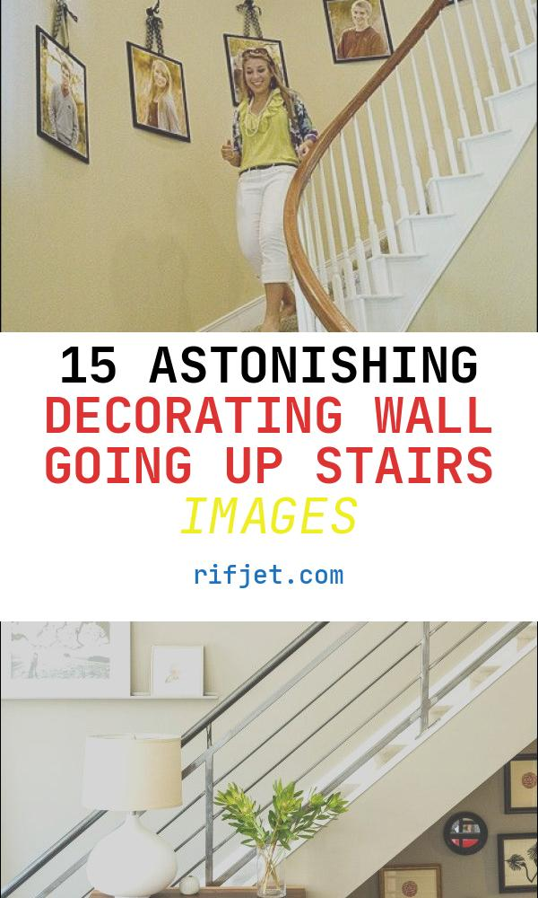 Decorating Wall Going Up Stairs Fresh On Ribbons and Hooks Going Up Stairs by Carlene