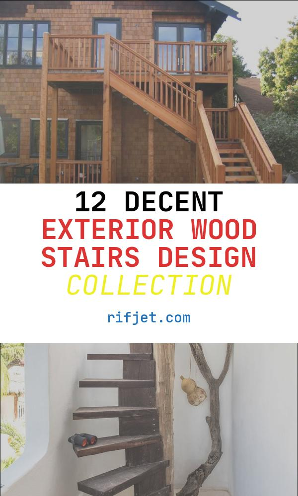 Exterior Wood Stairs Design Unique 52 Best Decorative Exterior Tile Accents for House Designs
