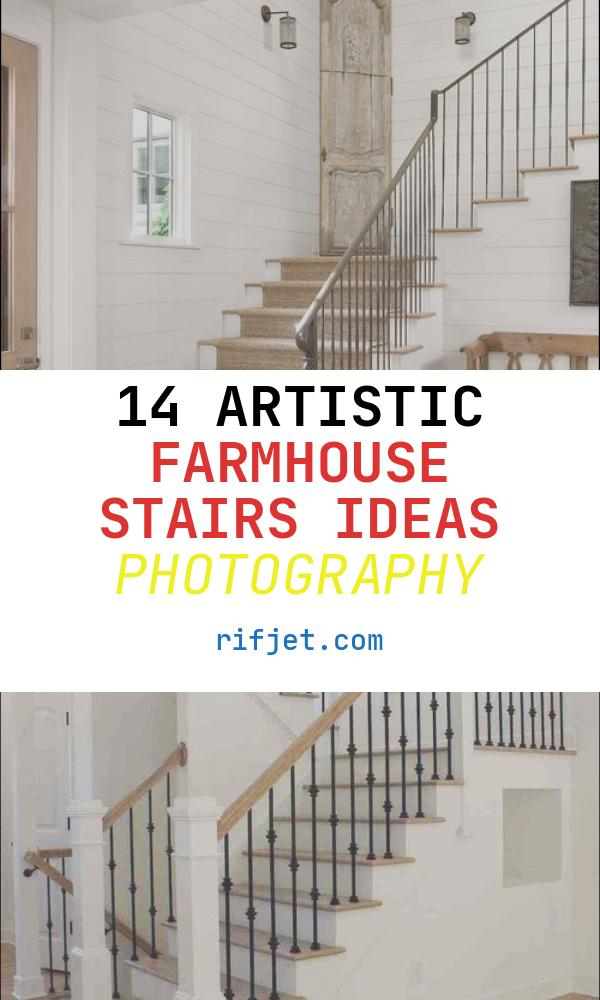 Farmhouse Stairs Ideas New Farmhouse Staircase Design Ideas Remodels & S