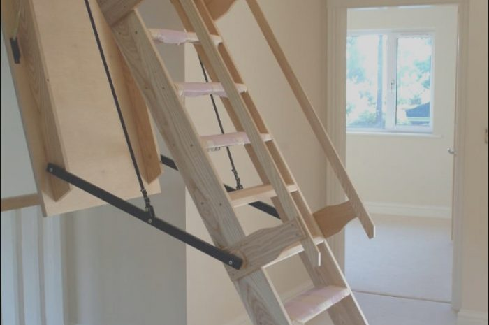 10 Trending Folding Stairs Design Photos