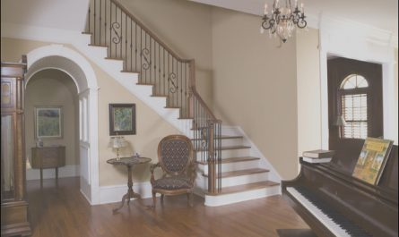 Foyer Stairs Ideas Fresh Manning Residence Foyer and Stairway