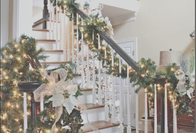 11 Prestigious Garland On Stairs Ideas Photos