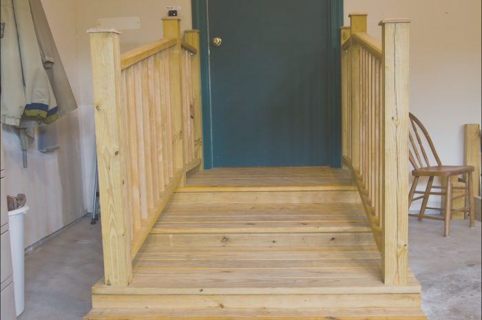 13 Great Handrails for Garage Stairs Image