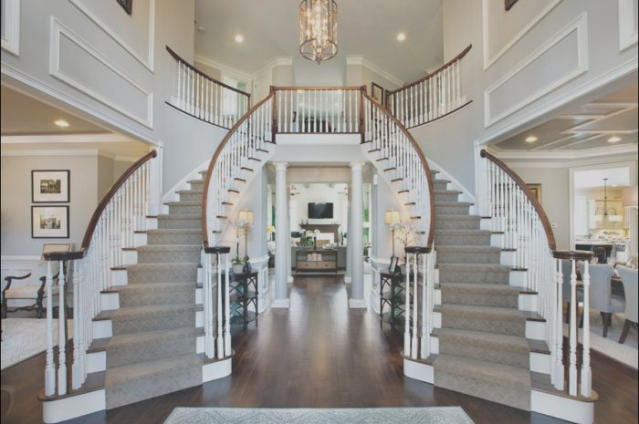 13 Remarkable Home Plans with 2 Sets Of Stairs Photos