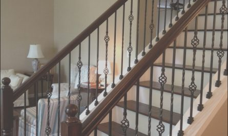 Interior Stairs and Railings Beautiful Wrought Iron Stair Railings for Creating Awesome Looking
