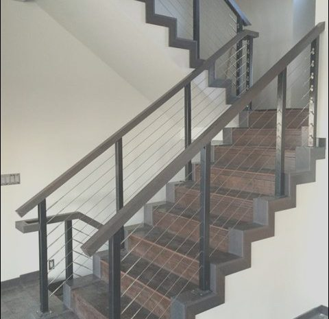 9 Authentic Interior Stairs Cable Railing Photos