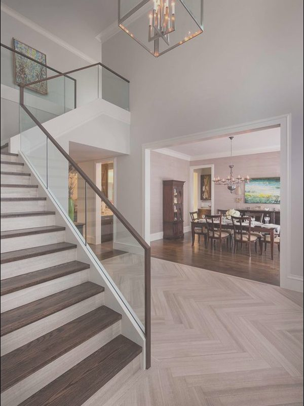 Interior Stairs Flooring Unique 20 Modern Glass Stair Railing Ideas