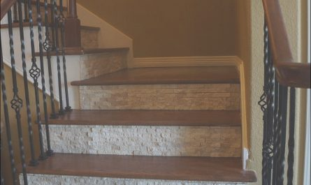 Interior Stairs Risers Lovely Splitface Tile On Stair Risers the Woodlands Texas