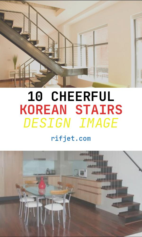10 Cheerful Korean Stairs Design Image