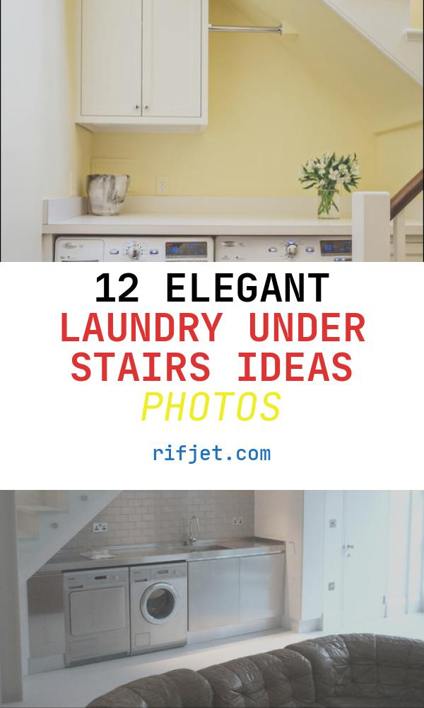Laundry Under Stairs Ideas Beautiful Laundry Under Stairs