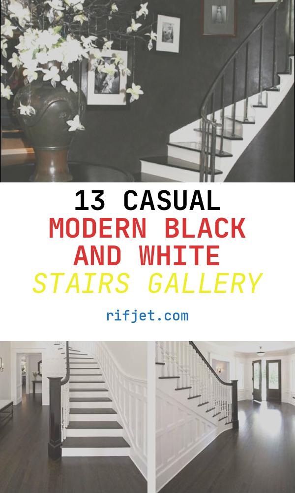 Modern Black and White Stairs Awesome Black and White Palette