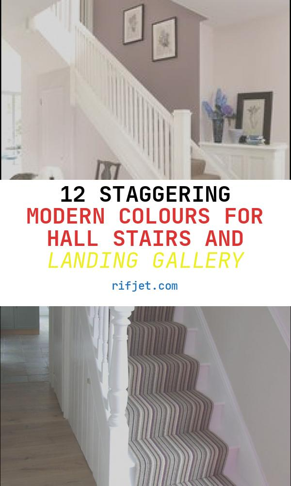 12 Staggering Modern Colours for Hall Stairs and Landing Gallery