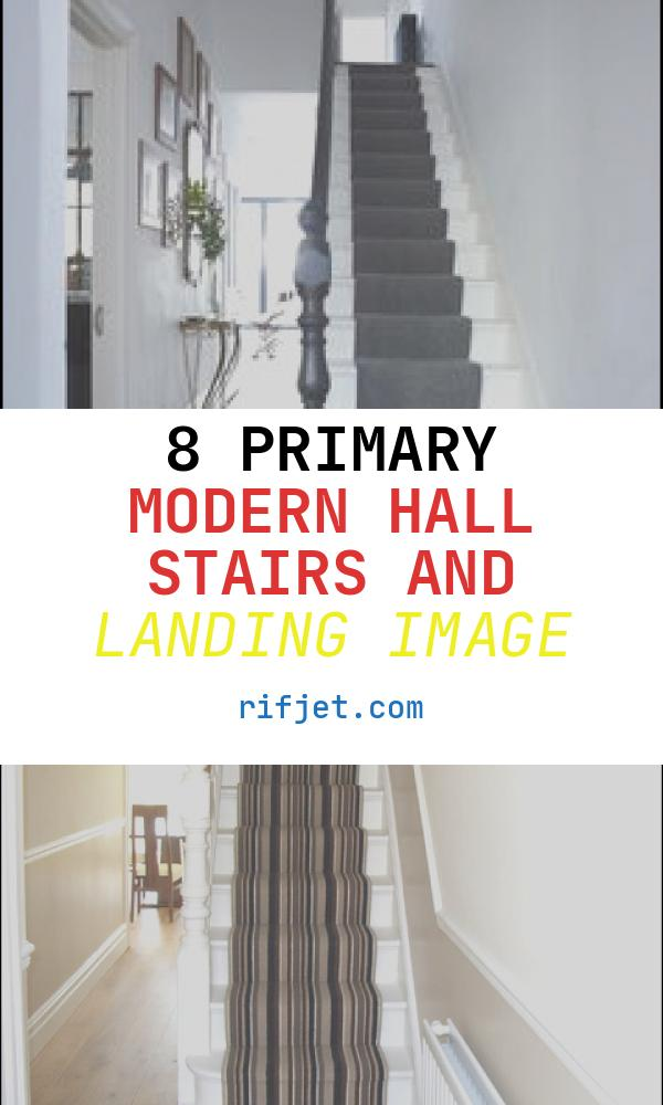 8 Primary Modern Hall Stairs and Landing Image