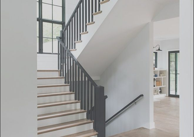 15 Simple Modern Stairs Black Rail Images