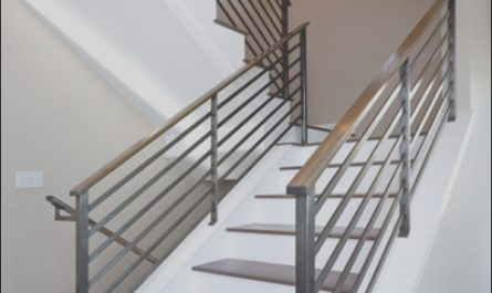 Modern Stairs Handrail Lovely Modern Handrail Designs that Make the Staircase Stand Out