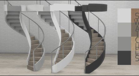 Modern Stairs Sims 4 New Spring4sims