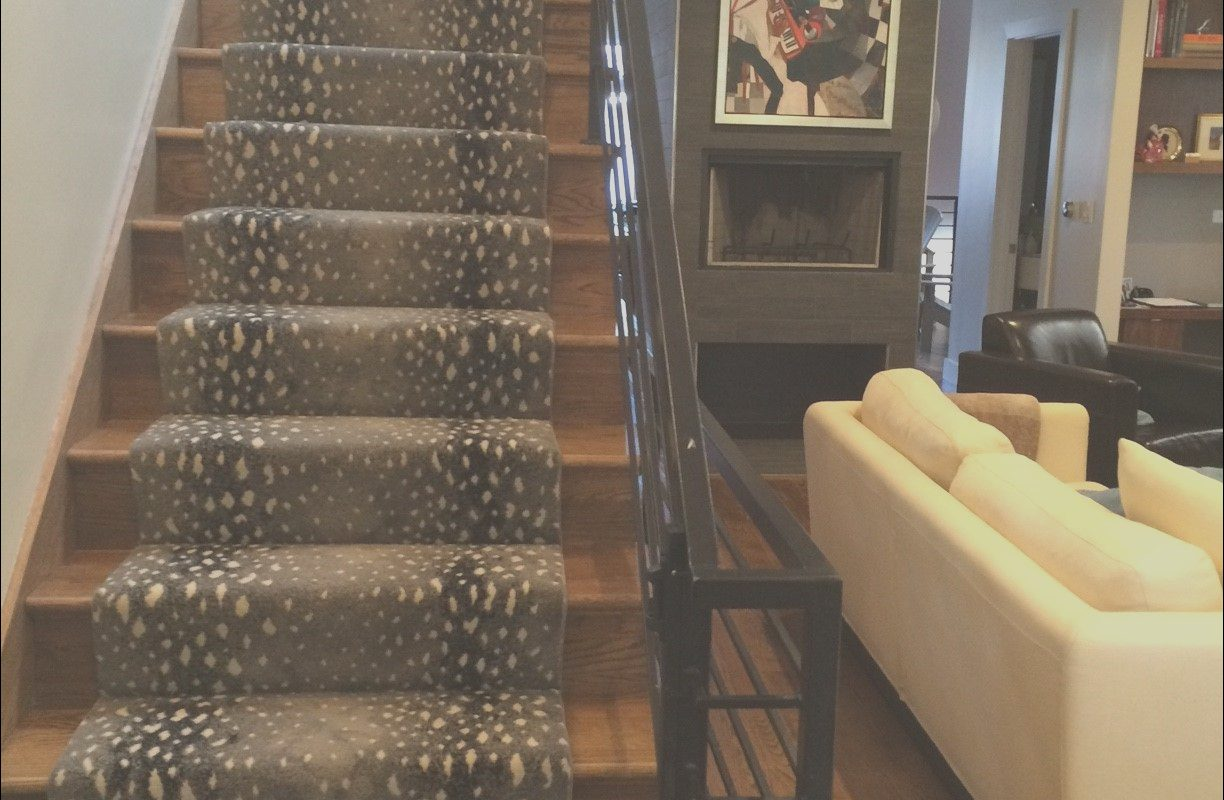 Modern Stairs with Carpet Best Of Animal Print Stair Runner and Modern Staircase Prestige S