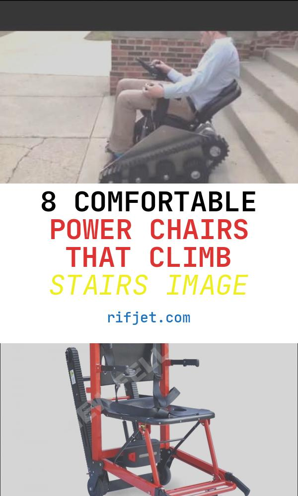 8 Comfortable Power Chairs that Climb Stairs Image