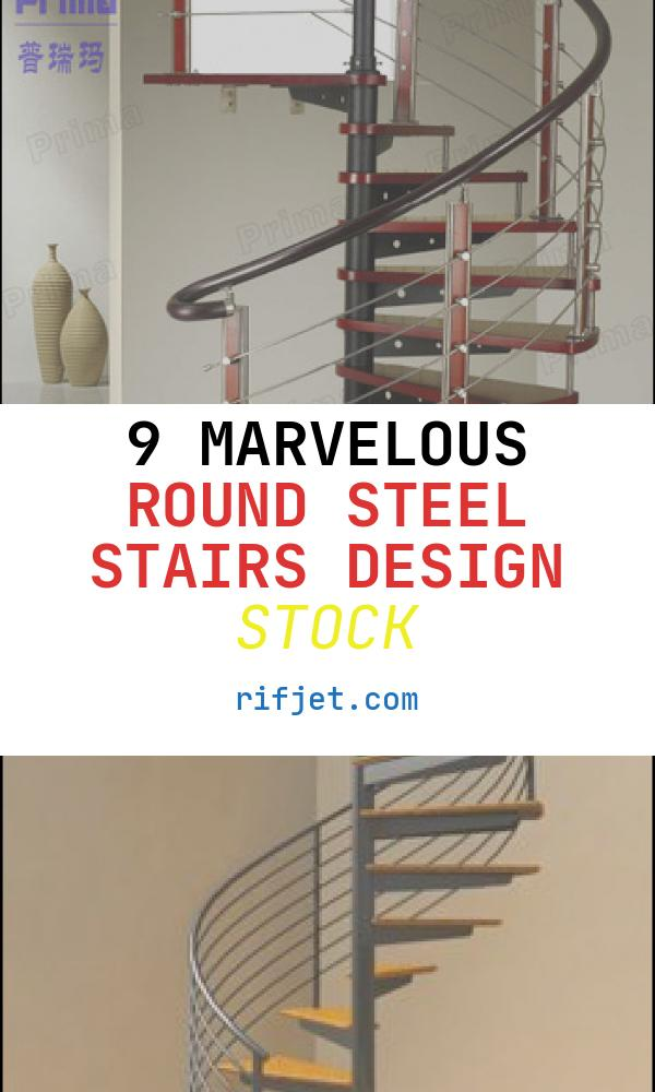 9 Marvelous Round Steel Stairs Design Stock