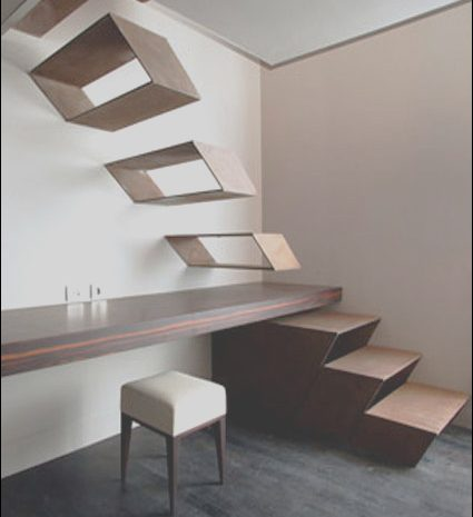 9 Prime Shelves Stairs Modern Photos