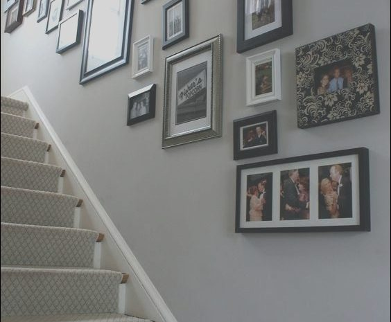 15 Fancy Small Hall Stairs and Landing Decorating Ideas Photos