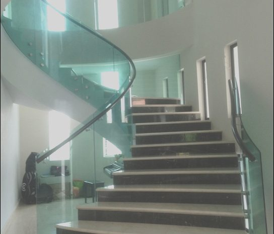 9 Entertaining Staircase Design Glass Collection