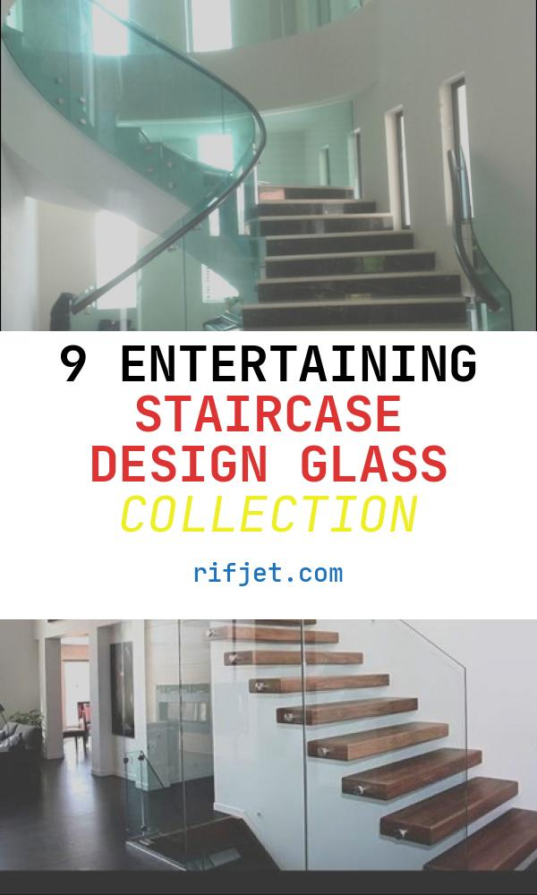 Staircase Design Glass Lovely Staircase Glass Design