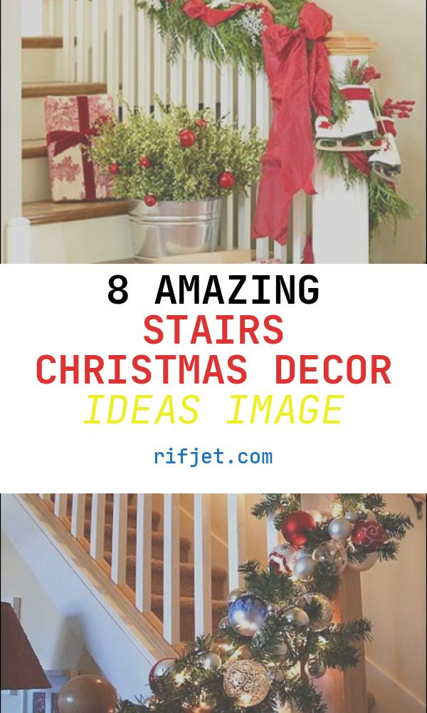 Stairs Christmas Decor Ideas Luxury 100 Awesome Christmas Stairs Decoration Ideas Digsdigs