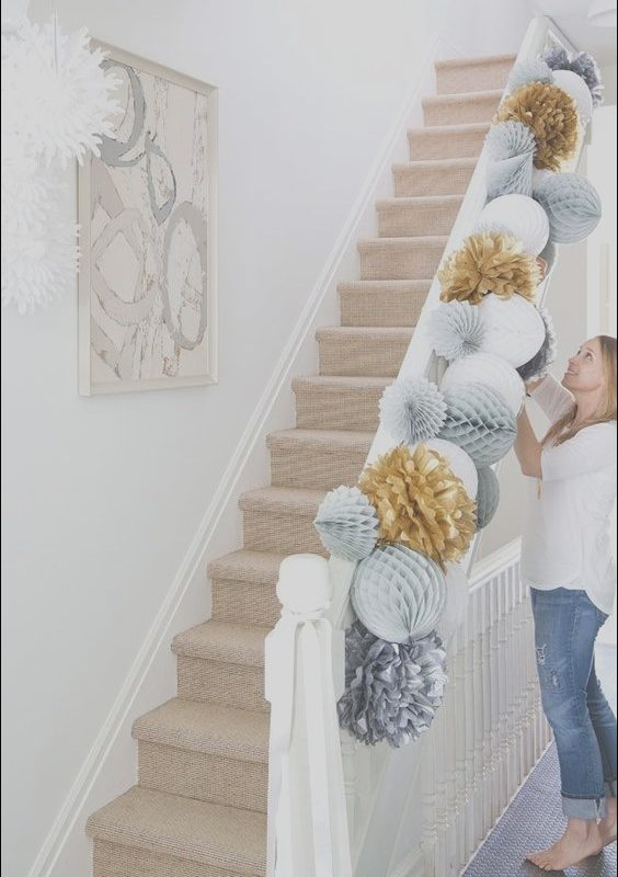 Stairs Decor for Party Awesome Ideas Will Make Your Housewarming Party the Hit Of the