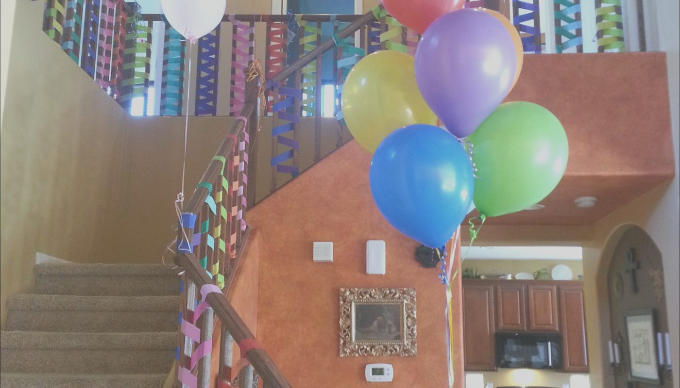 Stairs Decoration for Birthday Beautiful E Create and Celebrate Stair Decorations In 2019