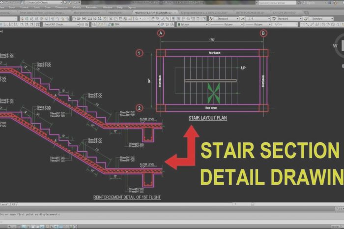10 Fresh Stairs Design Autocad Photography